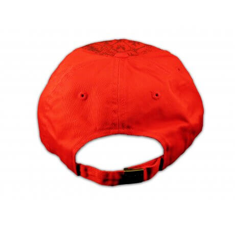 Gold Cross Red Ball Cap Vintage Hat