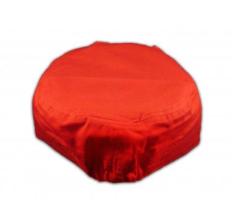 Fleur-de-lis on Red Cadet Hat