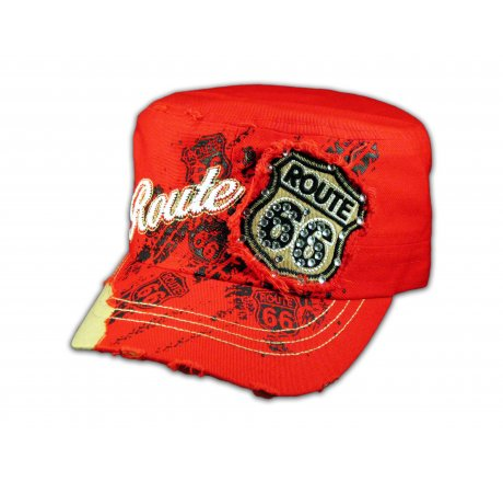 Red Route 66 Cadet Castro Cap