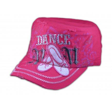 Dance Mom Pink Cadet Castro Hat