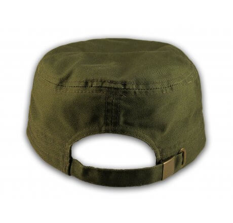 Dance Mom Olive Green Cadet Castro Hat Military Army Cap