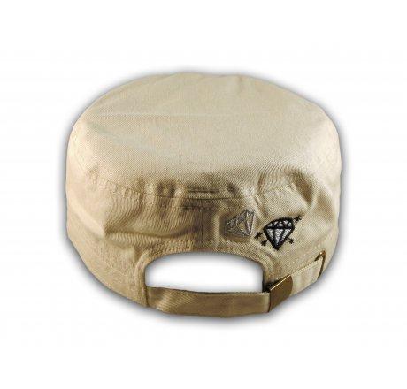 Sugar Skull on Stone Color Cadet Hat Military Cap
