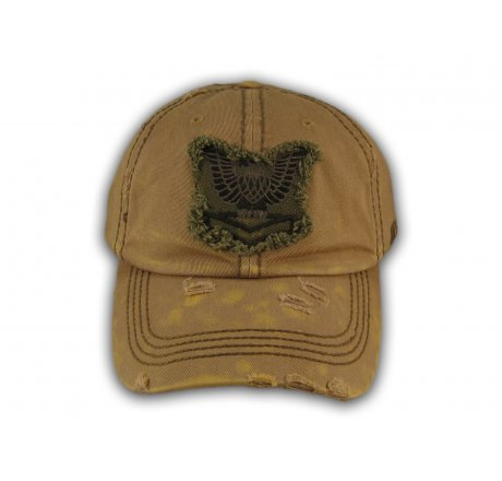 Brown USA Tactical Ops Vintage Baseball Cap