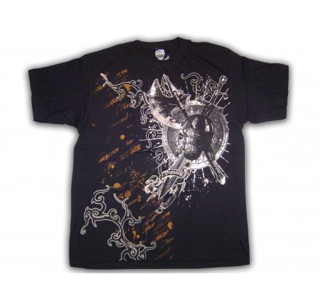 Dynasty Couture Black Foil T-Shirt
