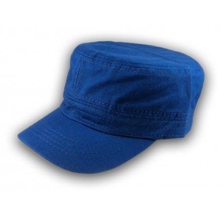 Plain Royal Blue Cadet Cap