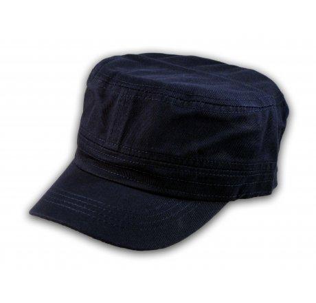 Plain Navy Blue Cadet Cap