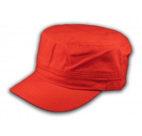 Plain Red Cadet Cap