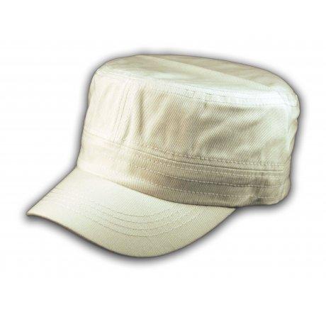 Plain White Cadet Cap