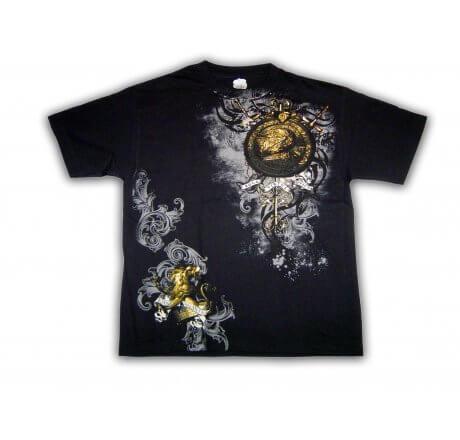 Royal Spirit Black T-Shirt