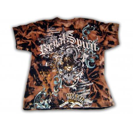 Royal Spirit Crest Black T-Shirt