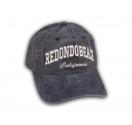 Blue Redondo Beach Washed Baseball Cap