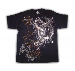 Dynasty Couture Black Foil T-Shirt