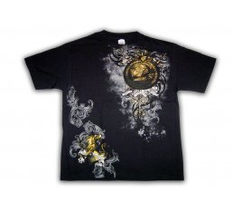 Royal Spirit - Black T-Shirt - Large
